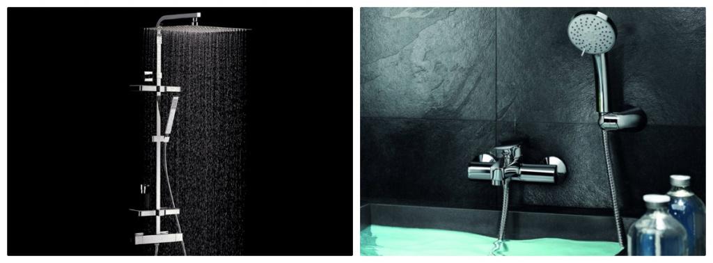 Краны с душем: стойка и просто смеситель с лейкой